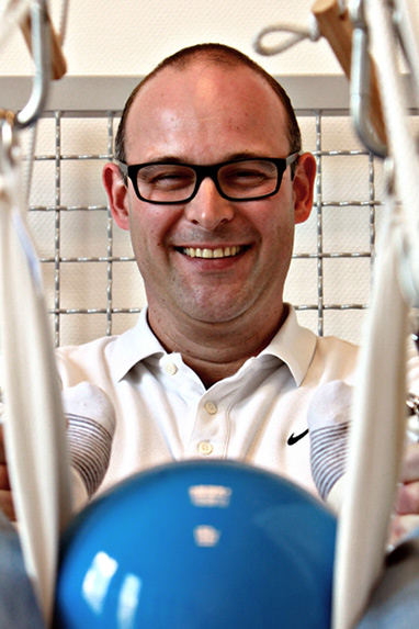 Physiotherapeut Martin Grebner