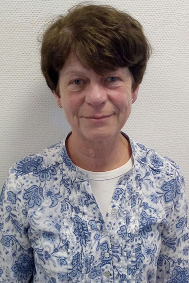 Rezeptionistin Judith Rühr